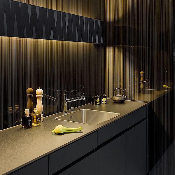 glasl sungen f r die k che. Black Bedroom Furniture Sets. Home Design Ideas