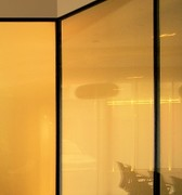 Partition wall systems made of glass