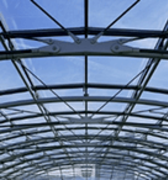 Overhead glazing, conservatories & greenhouses