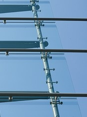 Toughened safety glass (ESG)
