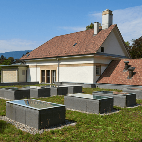 Reconstruction crematorium Madretsch