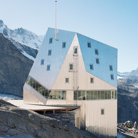 New Monte Rosa Hut in Zermatt