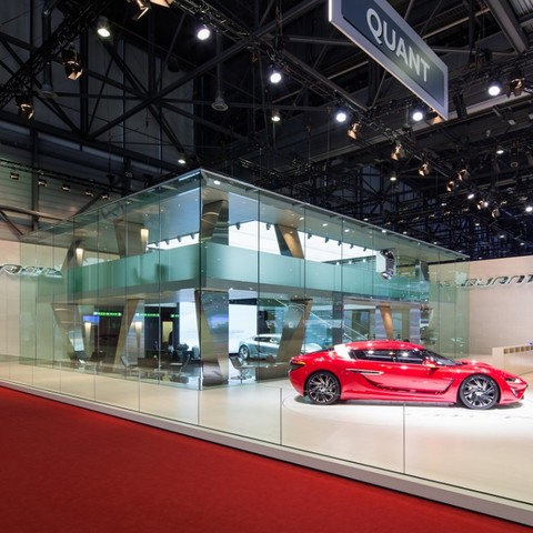 QUANT EXHIBITION STAND in GENEVA