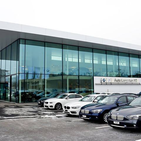 BMW car dealership Auto Langatun AG