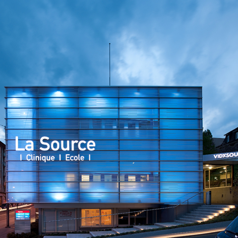 CLINIQUE DE LA SOURCE, CH-LAUSANNE